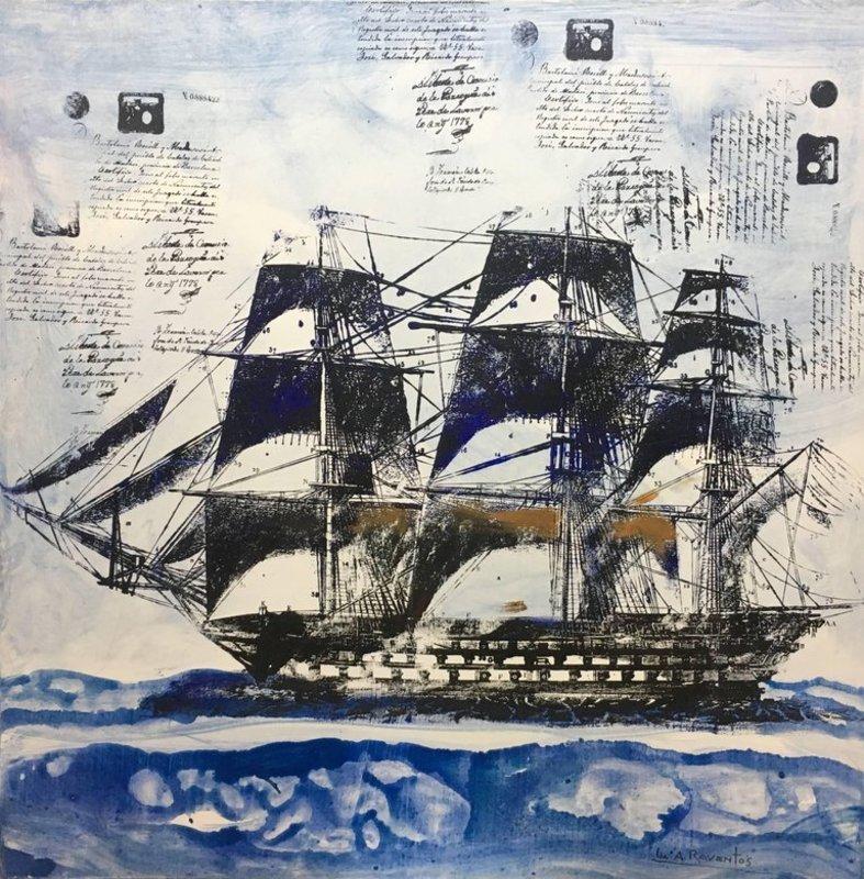 Maria Assumpció RAVENTOS - Painting - MARINA