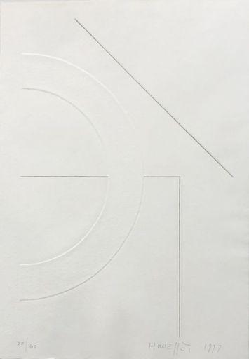 Gottfried HONEGGER - Estampe-Multiple - Sans titre