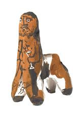 巴勃罗•毕加索 - 陶瓷  - Centaure au verre