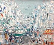 André COTTAVOZ - Painting - Rue Paris
