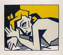 Roy LICHTENSTEIN - Print-Multiple - Reclining Nude