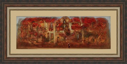 Amur KOCHISHVILI - Peinture - Old town