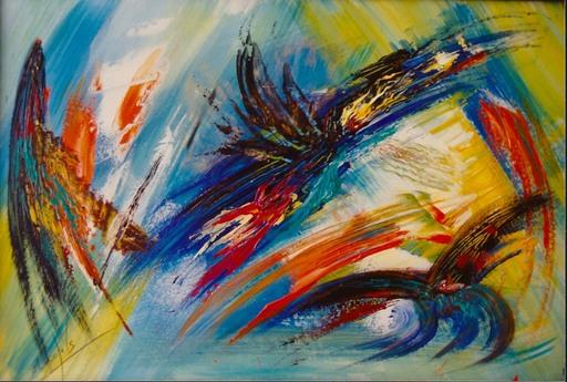 Didier ANGELS - Peinture - migration