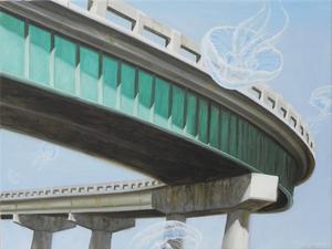 Julio FIGUEROA BELTRAN - Painting - The Speed of an Illusion