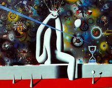 Mark KOSTABI - Painting - A Thousand Points of Light