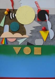 Lucio DEL PEZZO - Painting - Il tempo che si spegne senza calore
