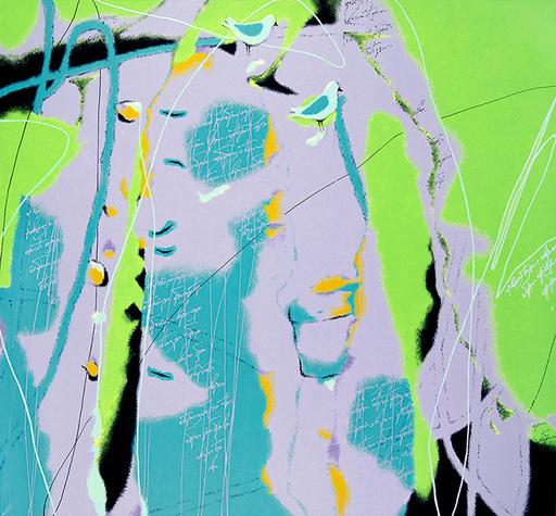 Alexander OLIGEROV - Gemälde - Green noon