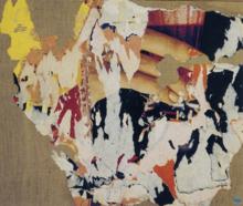 Mimmo ROTELLA - Peinture - La presa