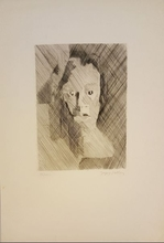 Jacques VILLON - Print-Multiple - VISAGE