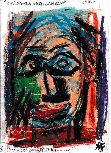 Harry BARTLETT FENNEY - Disegno Acquarello - more dearly than