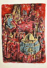 Yosi STERN - Grabado - City of King David