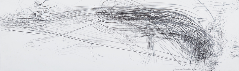 Jaanika PEERNA - Drawing-Watercolor - Storm Series Horizontal 40