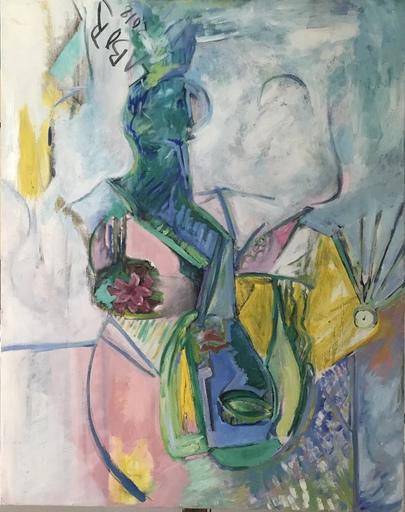 Robert LABOR - Peinture - Flower