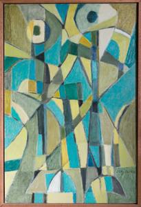 Jorj MORIN - Gemälde - Conversation dans le ciel