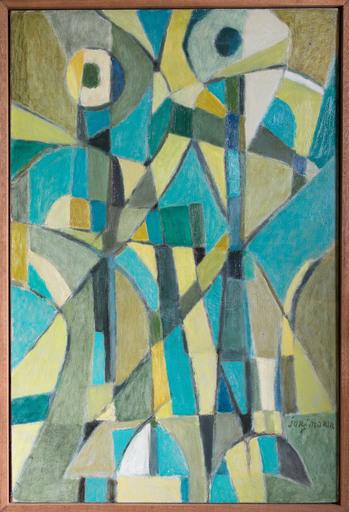 Jorj MORIN - Painting - Conversation dans le ciel
