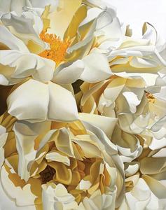 Annie BARDOULAT - Pittura - Blanc beige 2