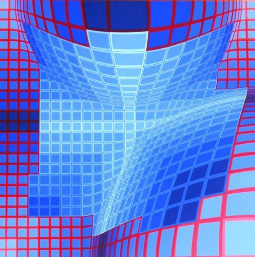 Victor VASARELY - Estampe-Multiple - Galaxy