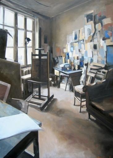 Christoff DEBUSSCHERE - Pintura - L'atelier du maître
