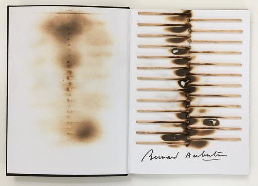 Bernard AUBERTIN - Sculpture-Volume - Livre brulé Rosemberg