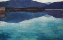 Reiner WAGNER - Painting - Walchensee