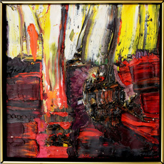 François ARNAL - Painting - Abstract Composition