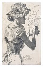 Adolph VON MENZEL - Drawing-Watercolor - ANKAUF - WE BUY -  ACHAT