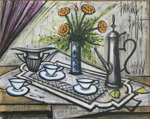 Bernard BUFFET - Pittura - still life