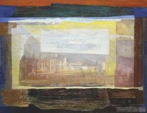 Henri BAVIERA - Painting - Myrhamo