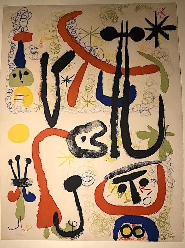 Joan MIRO - Print-Multiple - Personajes y animales