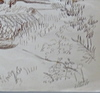 Louis DUSSOUR - Drawing-Watercolor - Un coin d'Auvergne