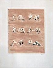 亨利•摩尔 - 版画 - Six reclining figures