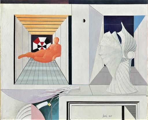 Sergio SARRI - Gemälde - Cronaca di un viaggio