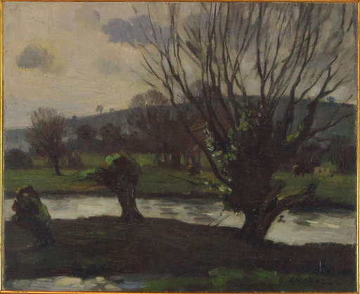 Edward CHAPPEL - Peinture - Verso sera