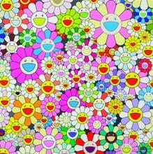 Takashi MURAKAMI - Estampe-Multiple - Flower Smile