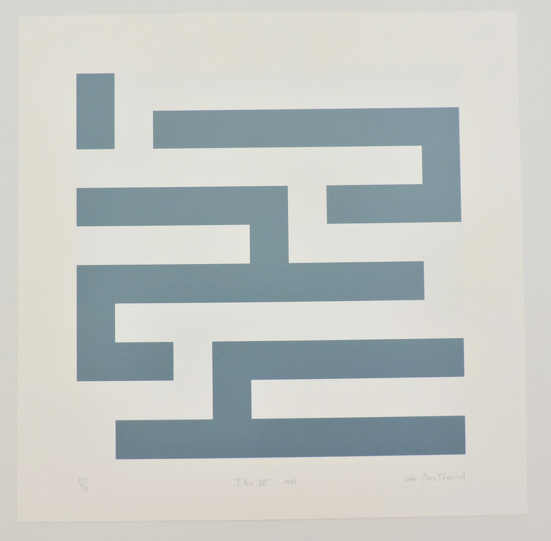 Ode BERTRAND - Print-Multiple - Iter IV