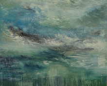 Géraldine THEUROT - Peinture - Embruns    (Cat N° 4937)