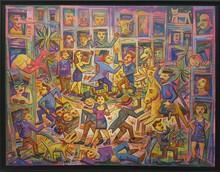Ronaldo ENRIGHT - Painting - La Calle