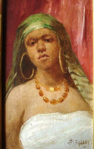Pierre Alexandre SALLES - Painting - L'orientale
