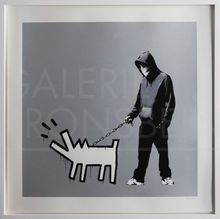 BANKSY - Stampa Multiplo - Choose Your Weapon (Silver) signed