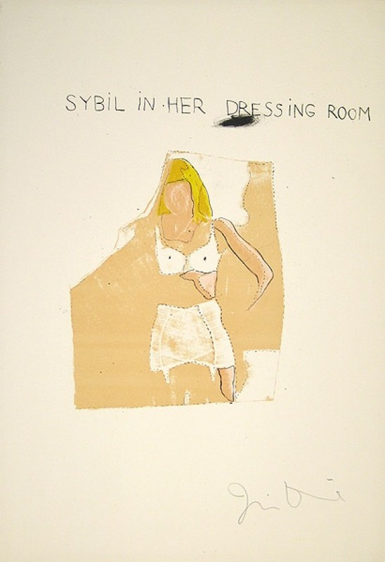 Jim DINE - Print-Multiple - Dorian Gray, Sybil