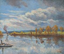 马克西米·卢斯 - 绘画 - Bord de Seine
