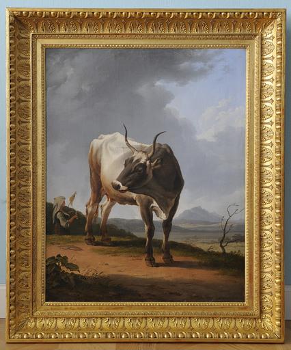 Hendrik VOOGD - Pintura - A COW