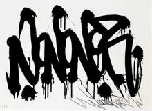 JONONE - Stampa Multiplo - Sérigraphie 15x21 JonOne