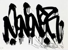 JONONE - Grabado - Sérigraphie 15x21 JonOne