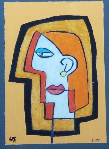 Harry BARTLETT FENNEY - Pittura - side view yellow