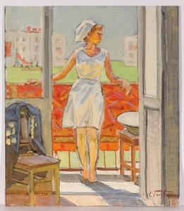 "Stepan Fillippovic GOLUB - Gemälde - ""1st of May"" 1960s, oil"