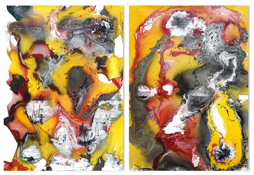Sumit MEHNDIRATTA - Painting - Composition No.163