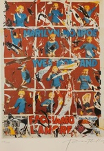 Mimmo ROTELLA - Print-Multiple - Let's Make The Love