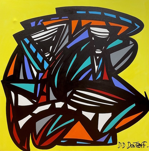 Did DONTZOFF - Painting - Sans titre
