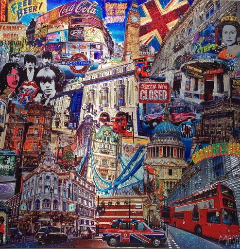 MASAYA - Painting - London monotype